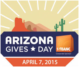 Click and Pledge Az Gives Day Logo